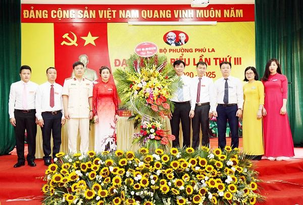 Đảng bộ phường Phú La đề ra 6 nhiệm vụ trọng tâm, 2 khâu đột phá và 8 chỉ tiêu chủ yếu nhiệm kỳ 2020 - 2025